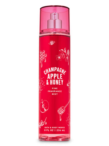 Champagne Apple & Honey Fine Fragrance Mist - Bath And Body Works