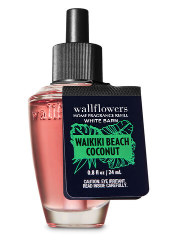 Waikiki Beach Coconut Wallflowers Fragrance Refill - Bath And Body Works