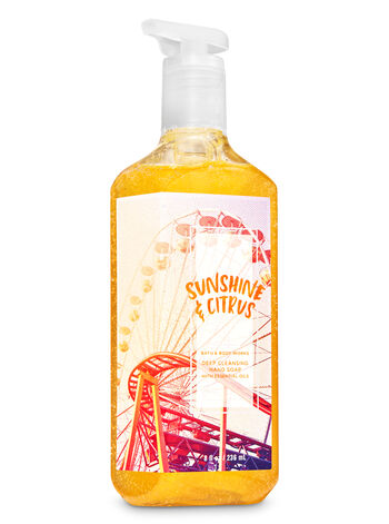 Sunshine & Citrus Deep Cleansing Hand Soap - Bath And Body Works