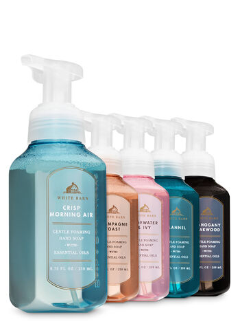 White Barn Color Run Gentle Foaming Hand Soap, 5-Pack - Bath And Body Works