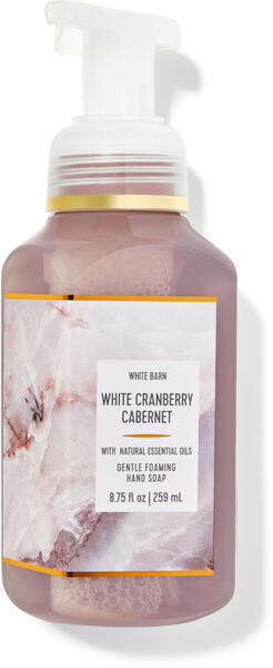 White Cranberry Cabernet Gentle Foaming Hand Soap