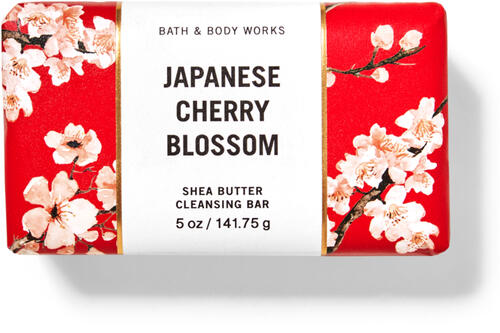 Japanese Cherry Blossom Shea Butter Cleansing Bar