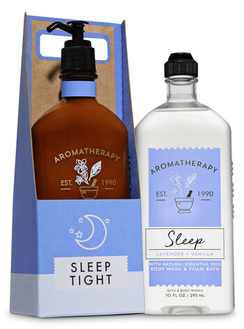 Aromatherapy Lavender Vanilla Sleep Tight Gift Set - Bath And Body Works