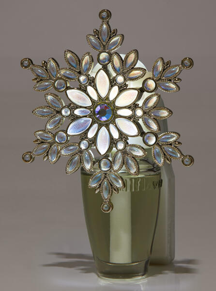 Shiny Snowflake Nightlight Wallflowers Fragrance Plug