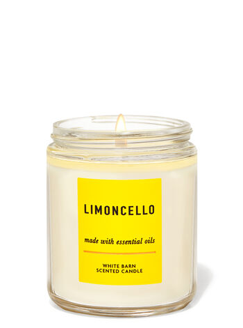 Limoncello Single Wick Candle