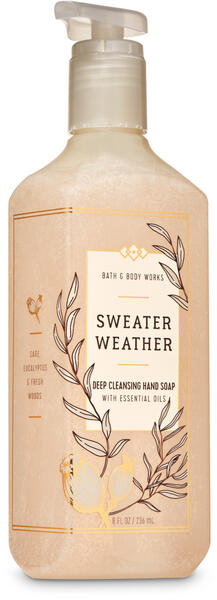 Sweater Weather Deep Cleansing Hand Soap
