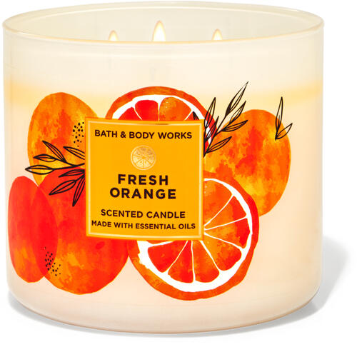 Fresh Orange 3-Wick Candle