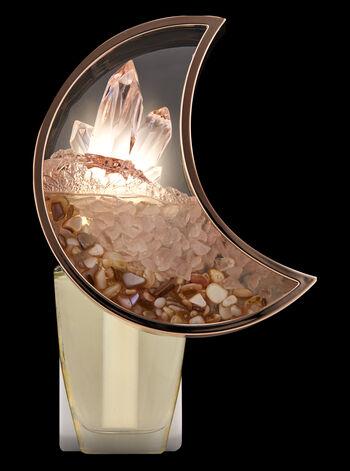 Crescent Moon Terrarium Nightlight Wallflowers Fragrance Plug