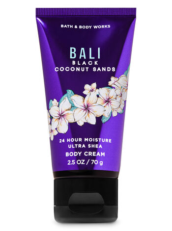Bali Black Coconut Sands Travel Size Body Cream - Bath And Body Works