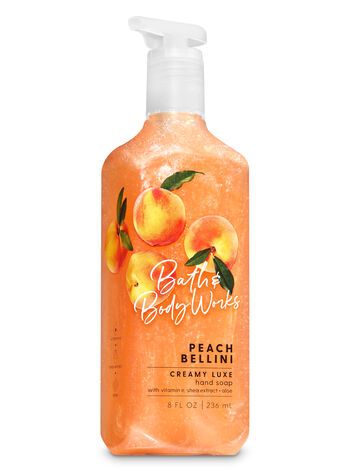 Peach Bellini Creamy Luxe Hand Soap - Bath And Body Works
