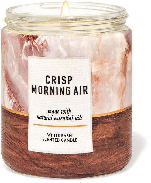 Crisp Morning Air Single Wick Candle