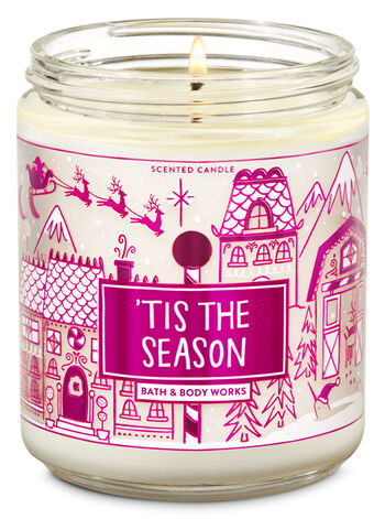 Tis the Season Single Wick Candle - Bath And Body Works
