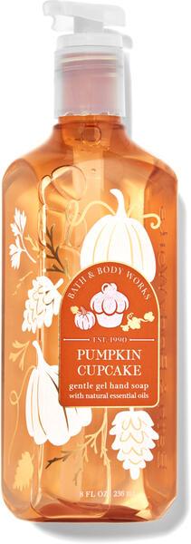 Pumpkin Cupcake Gentle Gel Hand Soap