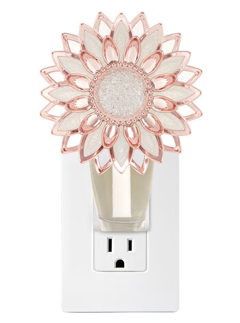 Rose Gold Flower Nightlight Wallflowers Fragrance Plug