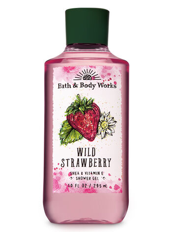 Signature Collection Wild Strawberry Shower Gel - Bath And Body Works