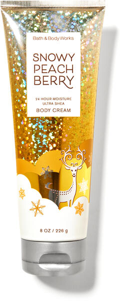 Snowy Peach Berry Ultra Shea Body Cream