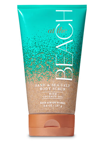 Signature Collection At The Beach Sand & Sea Salt Scrub - Bath And Body Works