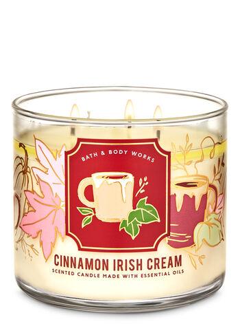 Cinnamon Irish Cream 3-Wick Candle