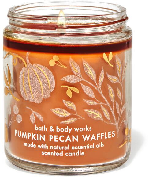 Pumpkin Pecan Waffles Single Wick Candle