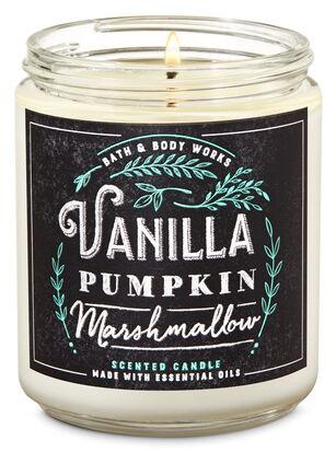 Vanilla Pumpkin Marshmallow Single Wick Candle