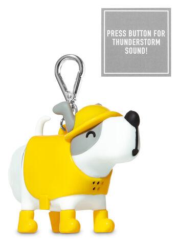 Noise-Making Raincoat Dog PocketBac Holders - Bath And Body Works