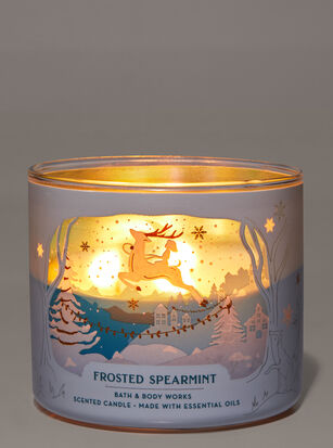 Frosted Spearmint 3-Wick Candle