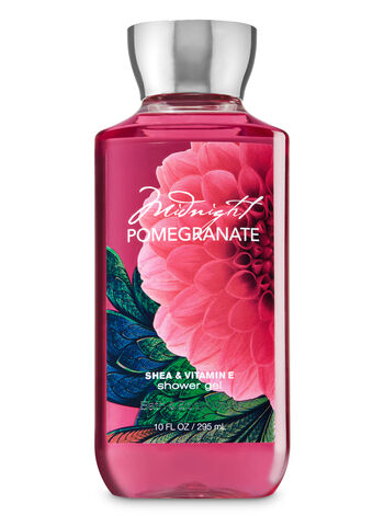 Signature Collection Midnight Pomegranate Shower Gel - Bath And Body Works