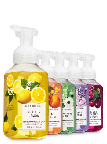 Favorite Picks Gentle Foaming Hand Soap, 5-Pack - Bath And Body Works
