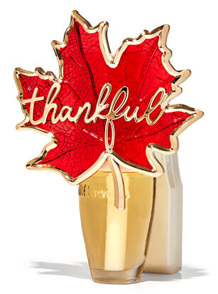 Thankful Leaf Nightlight Wallflowers Fragrance Plug