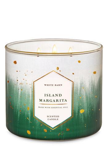 White Barn Island Margarita 3-Wick Candle - Bath And Body Works