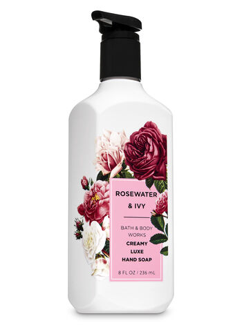 Rose Water & Ivy Creamy Luxe Hand Soap - Bath And Body Works