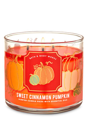 Sweet Cinnamon Pumpkin 3-Wick Candle