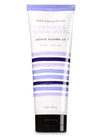 Signature Collection Lavender & Sandalwood Body Cream - Bath And Body Works