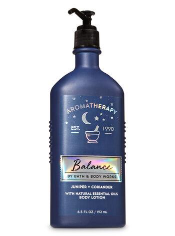 Aromatherapy Juniper Coriander Body Lotion - Bath And Body Works