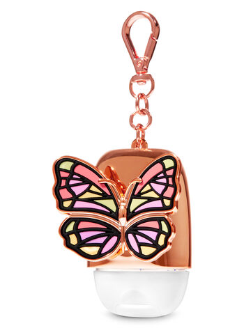 Rose Gold Butterfly PocketBac Holder - Bath And Body Works