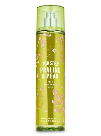 Toasted Praline & Pear Fine Fragrance Mist - Bath And Body Works