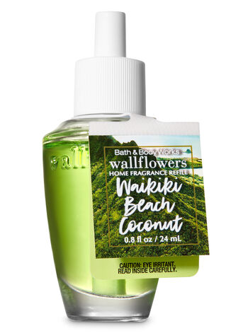 Waikiki Beach Coconut Wallflowers Fragrance Refill - Bath And Body Works