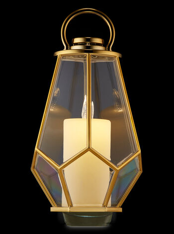 Geo Lantern Nightlight Wallflowers Fragrance Plug