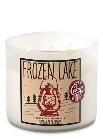Frozen Lake 3-Wick Candle - Bath And Body Works