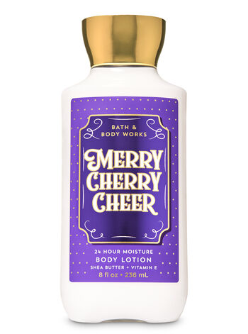 Merry Cherry Cheer Super Smooth Body Lotion - Bath And Body Works