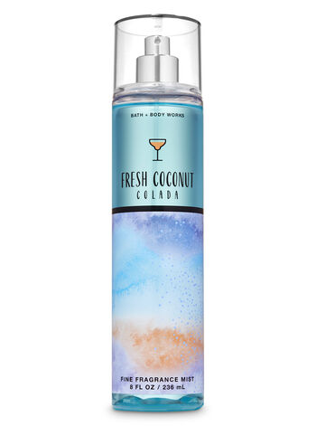 Fresh Coconut Colada Fine Fragrance Mist - Bath And Body Works