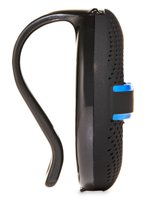 Blue Textured Soft Touch Visor Clip Car Fragrance Holder