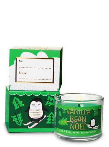 Vanilla Bean Noel Mini Candle - Bath And Body Works