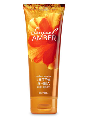 Sensual Amber Ultra Shea Body Cream