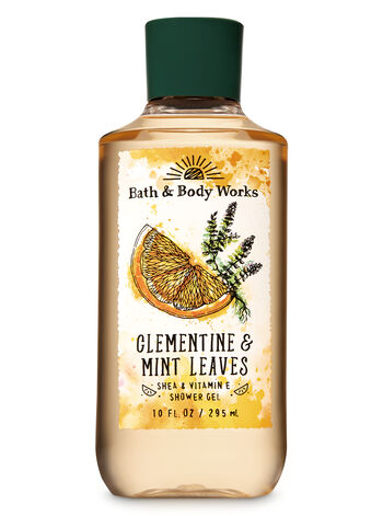 Signature Collection Clementine & Mint Leaves Shower Gel - Bath And Body Works