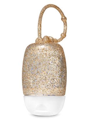 Gold Glitter PocketBac Holder
