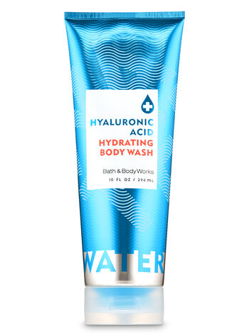 Water Hyaluronic Acid Hydrating Body Wash - Bath And Body Works