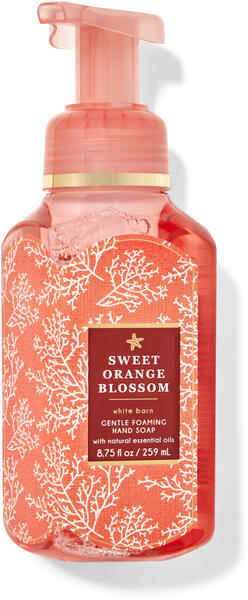 Sweet Orange Blossom Gentle Foaming Hand Soap