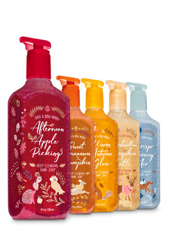 Fall Traditions Deep Cleansing Hand Soap, 5-Pack - Bath And Body Works