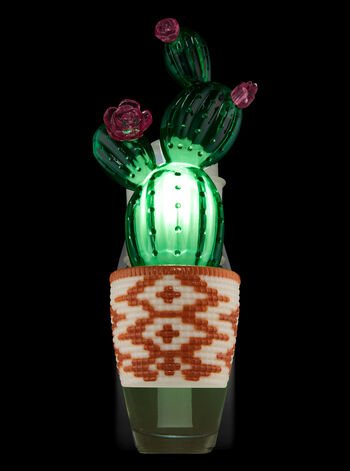 Potted Cactus Nightlight Wallflowers Fragrance Plug